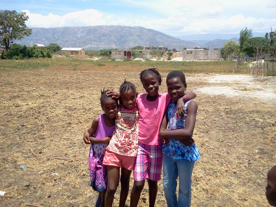 Girls and land