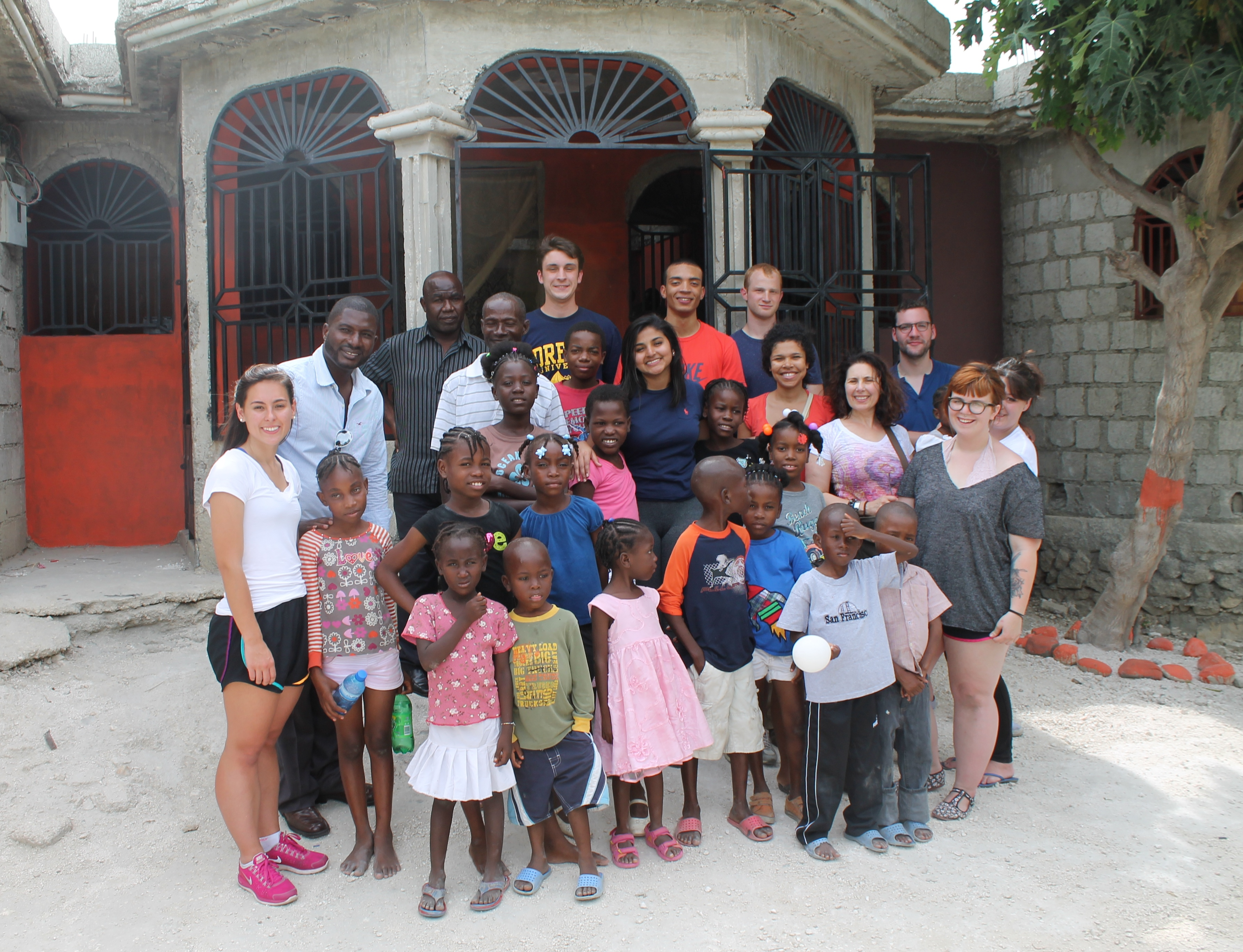 Drexel Student in Haiti 2014 Group Photo